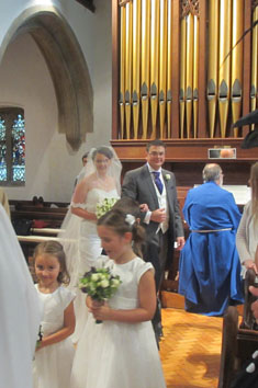 marriage  at All Saints' Church Warlingham Weddings and Blessings